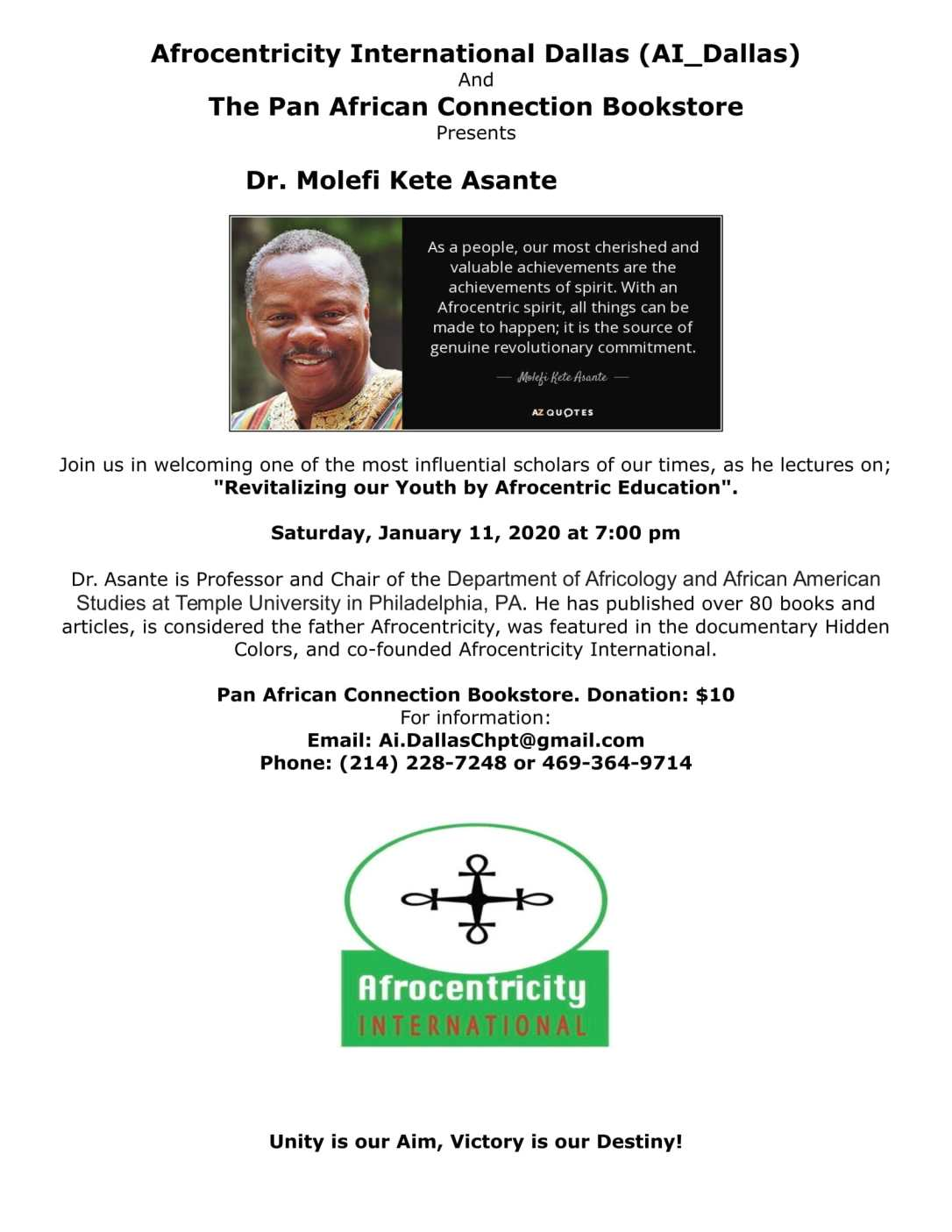 AI Dallas Presents Dr Molefi Ashante FLYER revised-1